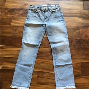 Frame Denim Alcott Le High Straight Ankle Jeans 28